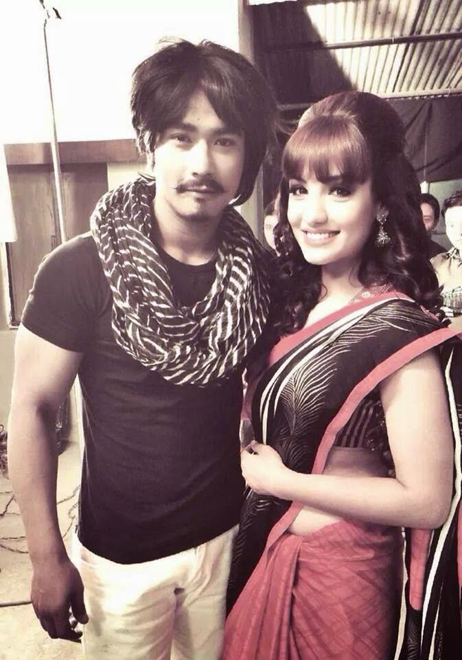 Saugat Malla and Priyanka Karki