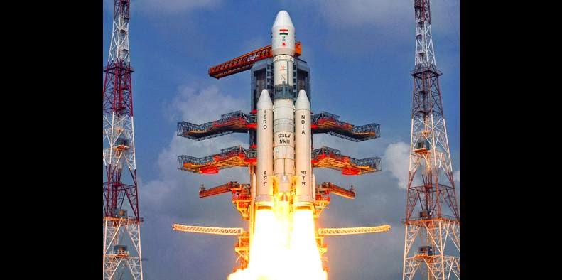 GSLV Mk-III lift off on Dec. 18, 2014. Credit: ISRO