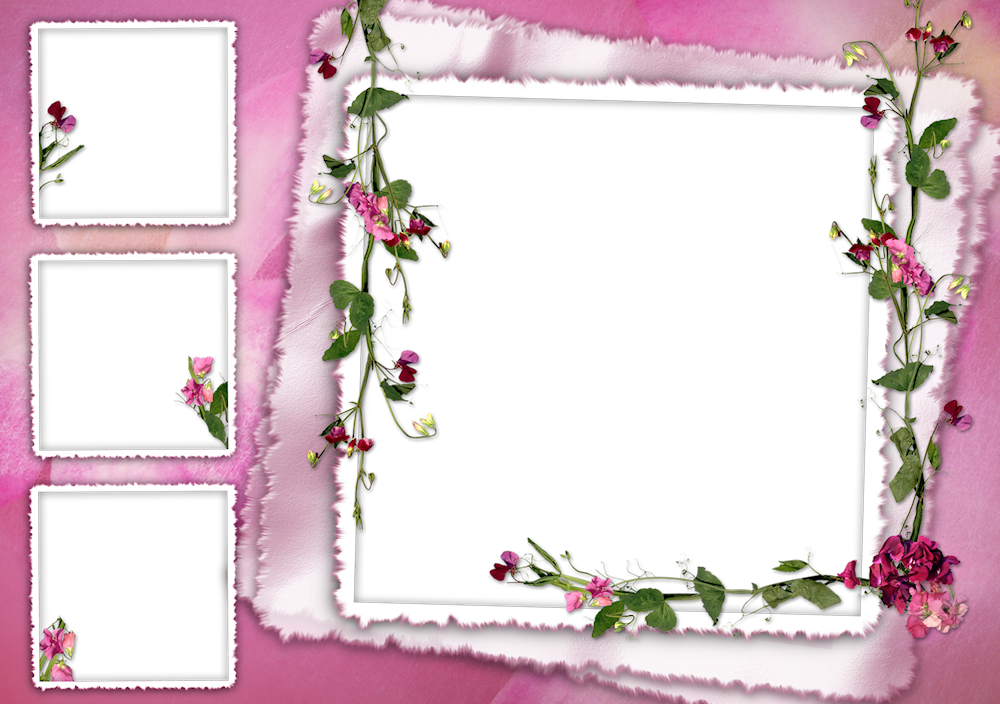 8 Picture Collage Frame