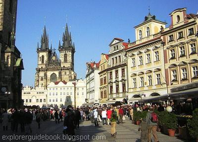 Old Town Square Praha Ceko