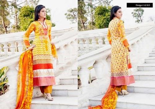 Amna Ismail Semi Stitched Lawn