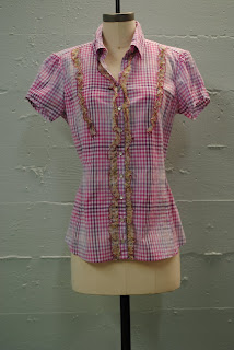 For Love And liberty ladies pink shirt