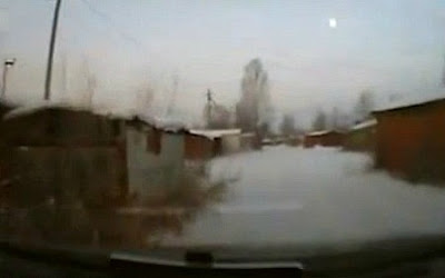 Something Fell From the Sky in the Village of Новобурейском