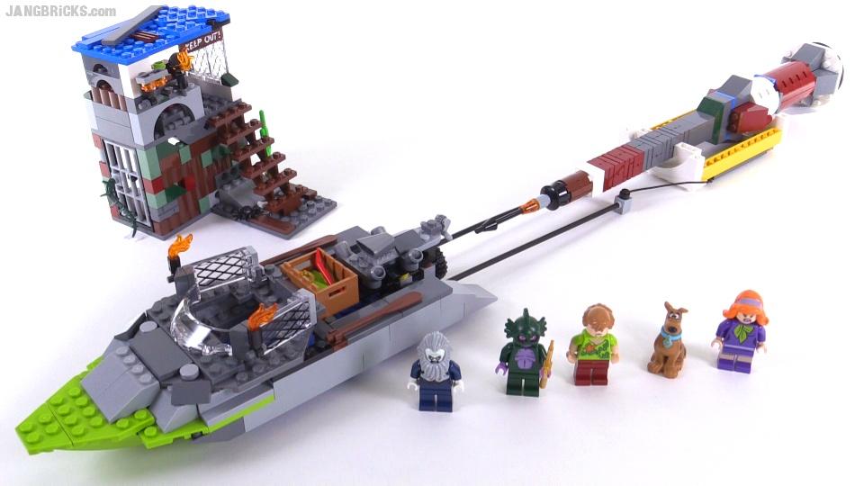 Remixed! LEGO Scooby-Doo Haunted Lighthouse alt. build!