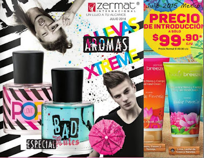 Zermat Cosmetics Julio 2015 Mexico