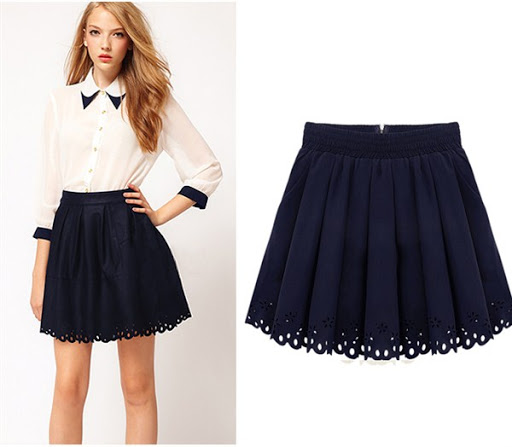 The popular mini skirt trends for summer, spring and fall 2016/2017