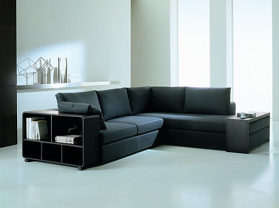 Rose Wood Furniture Modern Corner Sofa