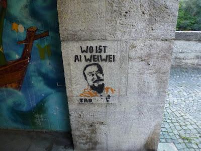 streetart münchen ai weiwei