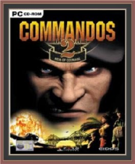 Commandos 2 - Men of Courage Cover, Poster