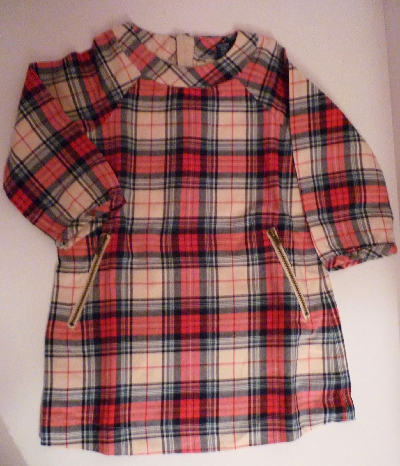 robe écossaise baby GAP