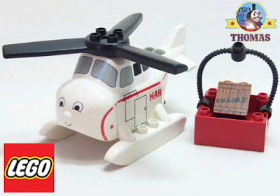 Simple to assemble 3300 Thomas Lego Harold the Helicopter toy boys DUPLO railway train set layout