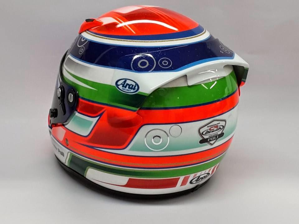 Racing helmets garage arai sk 5 e poli 2014 by cf design for Poli design