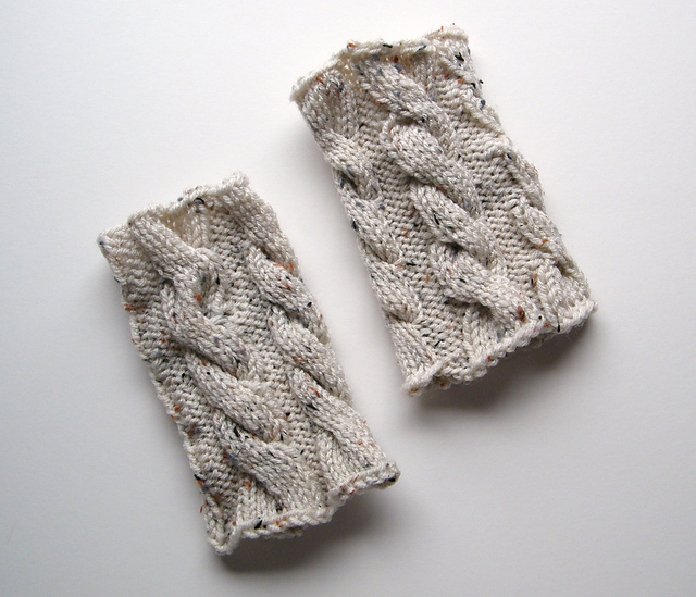 Lewis Knits: Ana Cable Boot Cuffs Knitting Pattern