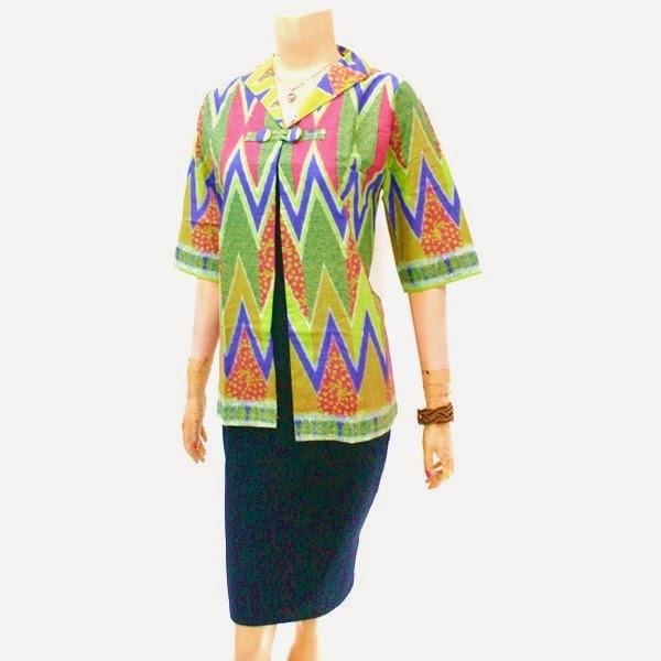 Baju Blouse Batik