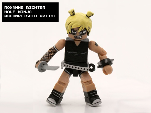 Scott Pilgrim Roxie Richter Minimate