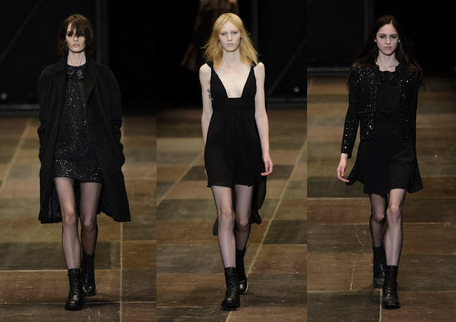 THIN TIGHTS SAINT LAURENT PARIS