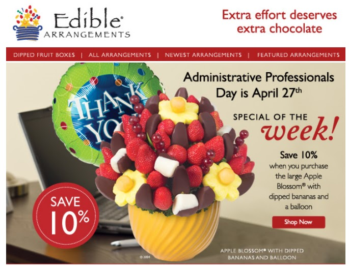 Edible arrangements free delivery coupon code