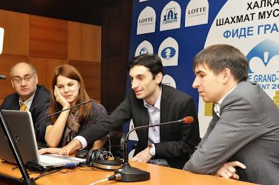 Echecs à Tashkent : analyse post-mortem de la partie Jobava 0-1 Andreikin - Photo © Anastasia Karlovich