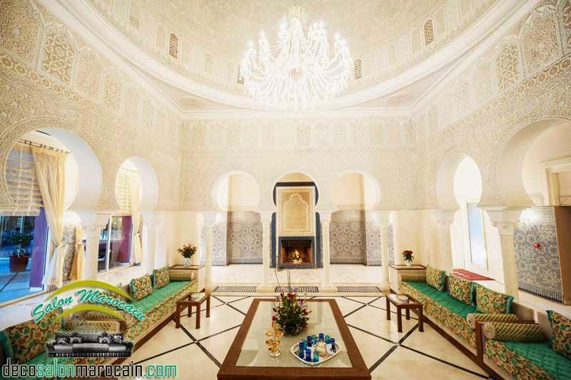 Salon marocain Andalousie design 2015