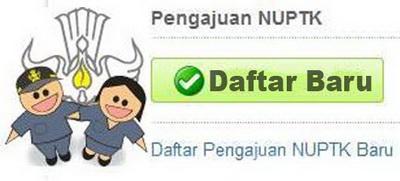 cara pendaftaran NUPTK baru