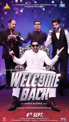 Welcome Back 2015 Hindi DVDScr 400mb