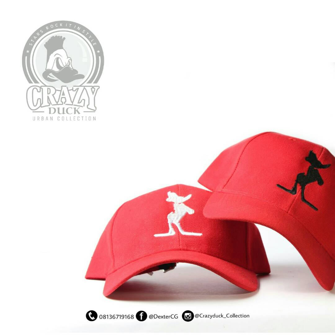 Crazy Duck Face Cap - 08136719168