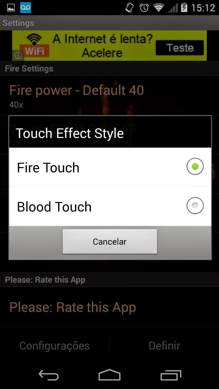 diablo android fire blood