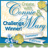 Create With Connie &amp; Mary - Summer Edition Challenge Winner #161, #162