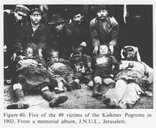 Carnage, First Kishinev Pogrom, April, 1903