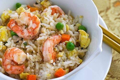 Shrimp Fried Rice Recipe |Chinese Food Recipes 中餐食谱