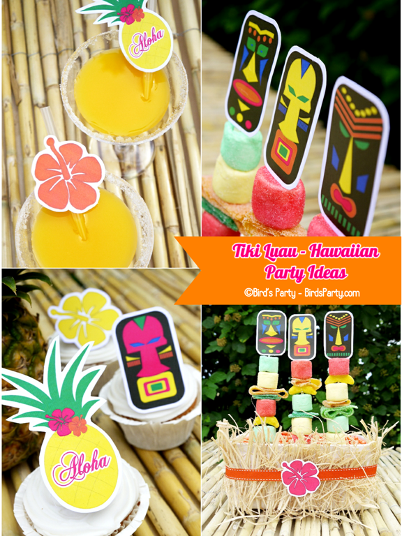 Remarkable Hawaiian Tiki Luau Party Ideas 576 x 768 · 1156 kB · png