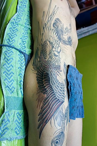 鳳凰  刺青 タトゥー 和彫り TATTOO