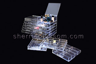 Acrylic Makeup Organizer - ICEbOX WIDE and ICEbOX SKINNY