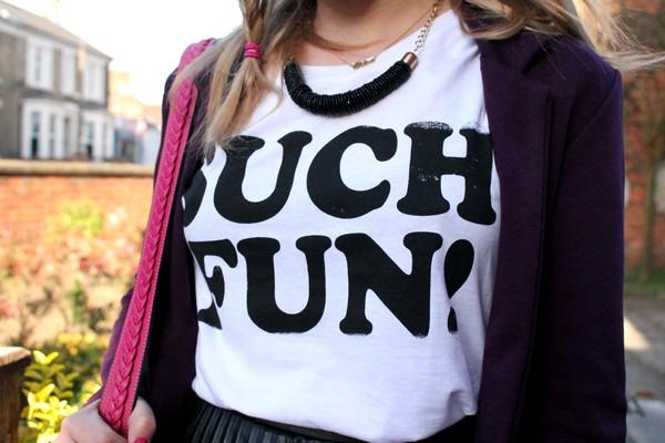T shirt fun