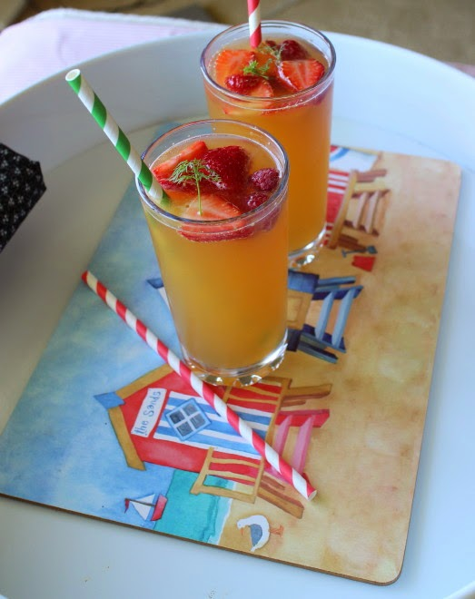 Carole's Chatter: Fruit Punch with a hint of Limoncello