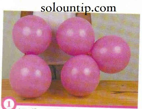arco de flores con globos para fiestas - Como Hacer Flores Con Globos