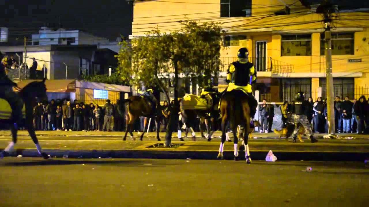 Disturbios Quito