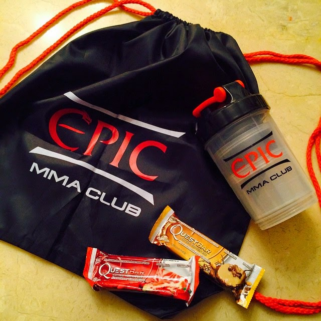 Protein Shaker, String Bar, Quest Bars