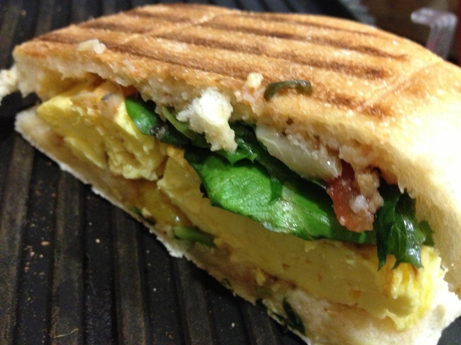Eat, Run, Love: Breakfast panini
