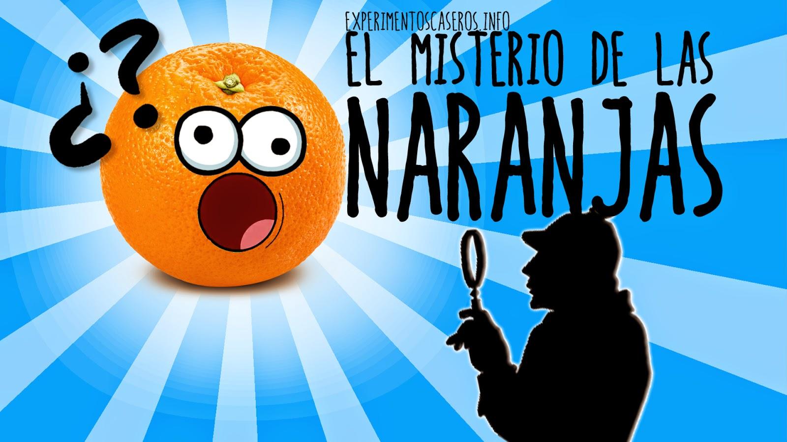 el misterio de las naranjas, las naranjas flotan o se hunden, ciencia, experimentos caseros, experimentos caseros para niños, experimentos sencillos
