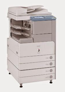 Cara Menggunakan Fitur Send Pada Mesin Fotocopy Canon IR