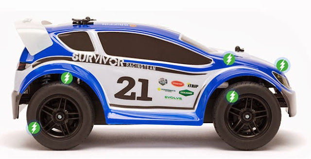 Griffin Technology announced latest remote control toy called the 'Moto TC Rally'