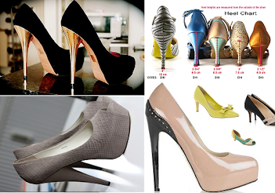 shoe heel sizes