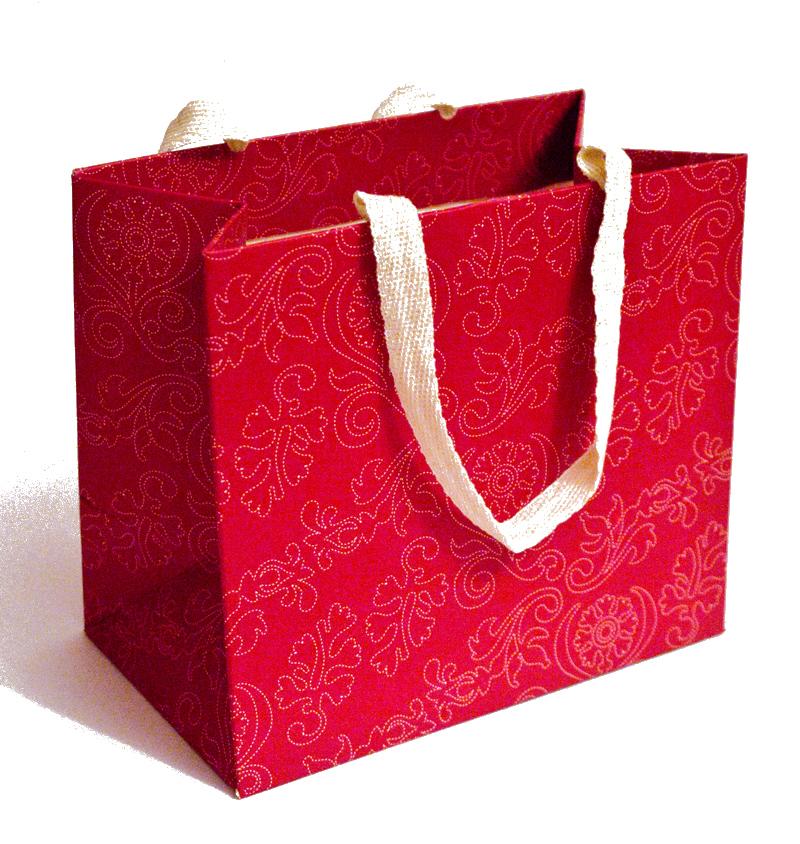 Красивый подарочный пакетик