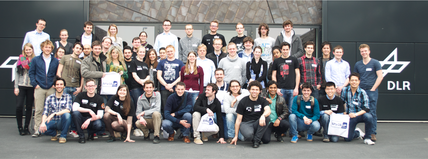 SpaceUp Bremen group photo (12 April 2014)