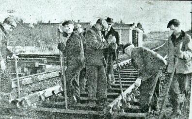 Gangers working at Fort Brockhurst