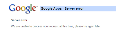 Google Apps Domain Registration - domain admin setup failure