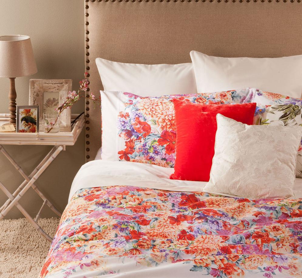 Spaintolima decoraci n de habitaciones por zara home for Decoracion de camas zara home