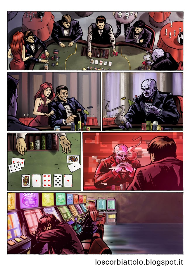 all in pazzi per il fumetto vincitore 2014 colore digitale mirko treccani pagina 1