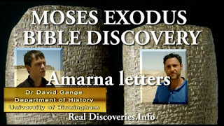 MOSES EXODUS BIBLE DISCOVERY OF Amarna letters.